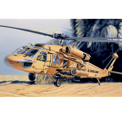 UH 60 Desert Hawk Model Set