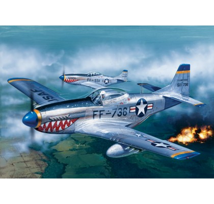F51 D Mustang -Model Set 1:72 Scale