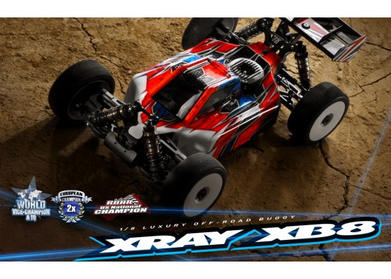 XB8 2020 1/8 Nitro Profesyonel Yarış Arabası