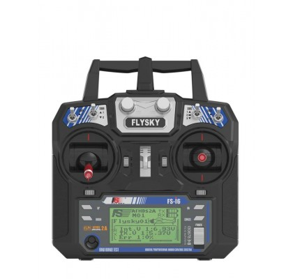 FS-i6 2.4G 6CH AFHDS RC FPV Drone için Alıcısız Radyo Verici - Mod 2