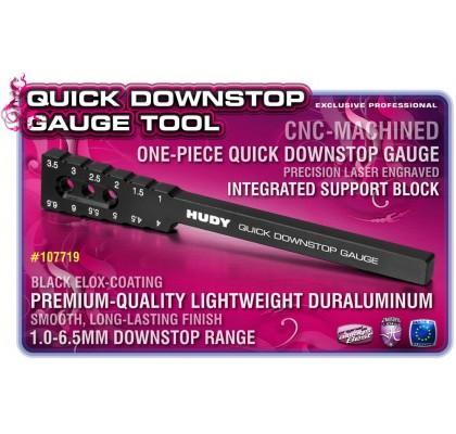 Quick Downstop Gauge Tool 1.0 ~ 6.5 mm