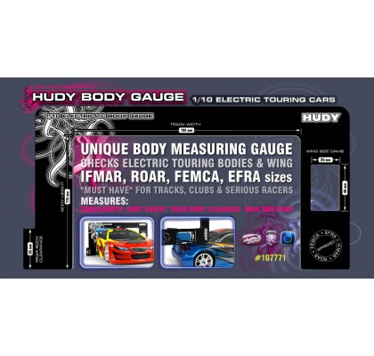 Body Gauge 1/10 Electric Touring cars