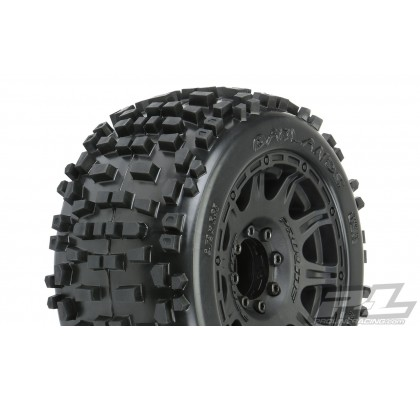 "Badlands 3.8"" All Terrain Tires Mounted"
