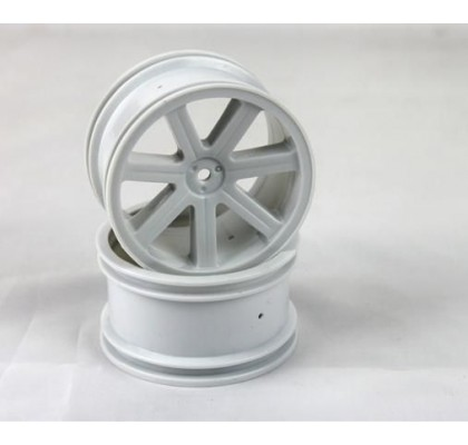 Spoke Wheel rear white (2 pcs) - S10 BX