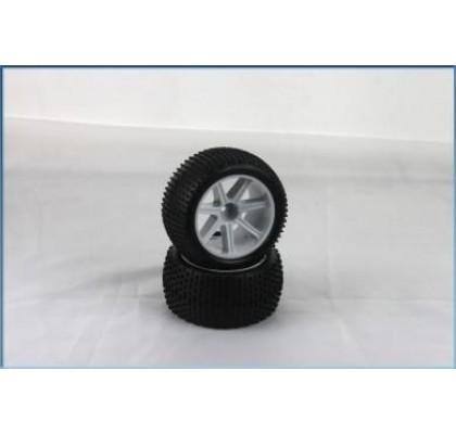 VTEC 1/10 Tyre+Inserts rear (2pcs) - S10 BX
