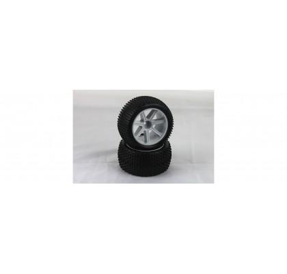 Vtec 1/10 Pre-Glued Tire (2pcs)