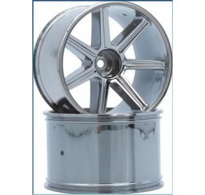 8-Spoke Wheel black-chrome (2 pcs) - S10 TX
