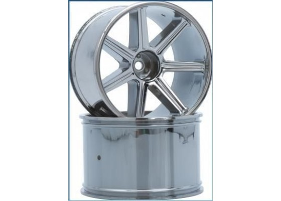 8-Spoke Wheel black-chrome (2 pcs) - S10 TX