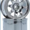 8-Spoke Wheel black-chrome (2 pcs) - S10 MT