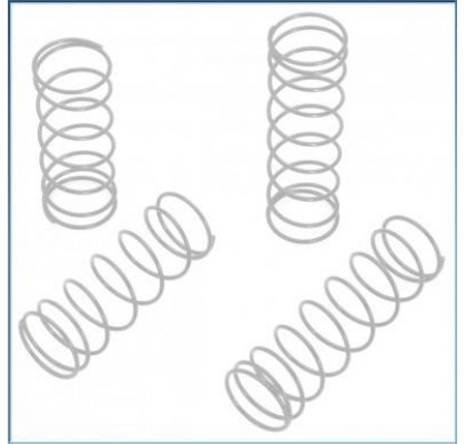 Amortisör Yayı Beyaz/Orta Sertlik (4adet) - S10 BX