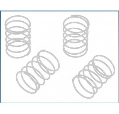 Shock Spring Set white/soft (4pcs) - S10 Blast TC