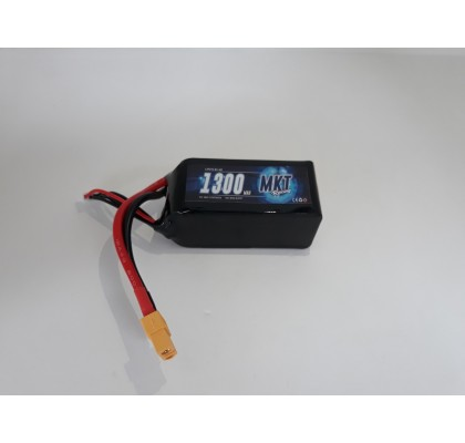 1300mAh 95C 4S Flight Lipo
