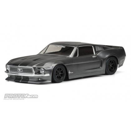 1968 Ford Mustang Clear Body For VTA Class