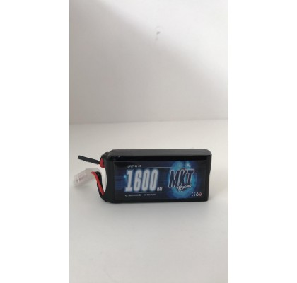 1600mAh 45C 2S Flight Lipo