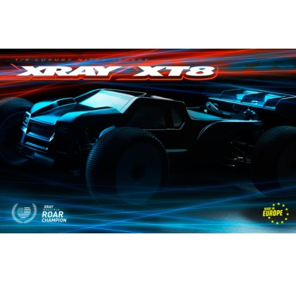 XT8.2 1/8 OffRoad Truggy