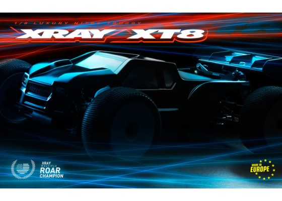 XT8.2 1/8 Off-Road Arazi Aracı