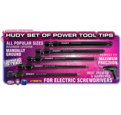 Set of Power Tool Tips