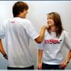 T-shirt Beden L Beyaz
