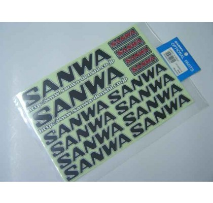 SANWA DECAL BLACK