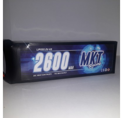 2600mAh 35C 6S Flight Lipo