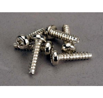Screws, 3x12mm Roundhead Self-Tapping