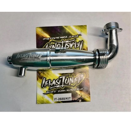 EFRA-Nr.2688 Evo 2 1/10 On Road Exhaust & Manifold