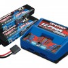 Battery/Charger Competitor Pack (includes #2972 Dual iD charger (1), #2869X 7600mAh 7.4V 2-cell 25C LiPo battery (2))