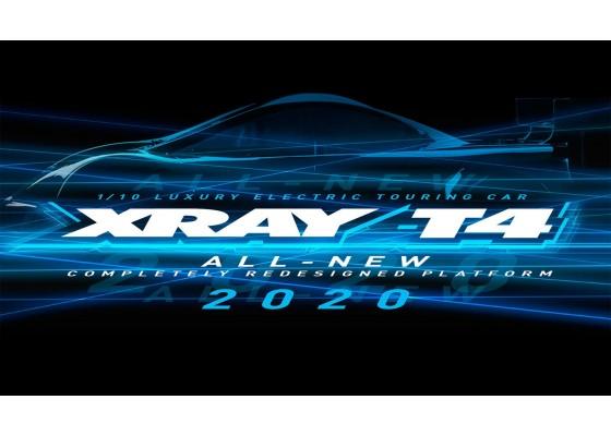 T4 2020 1/10 4-Çeker Elektrikli Yarış Arabası