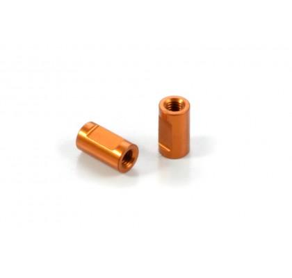 Alu Brace Post for ARS 3x5x9mm (2)