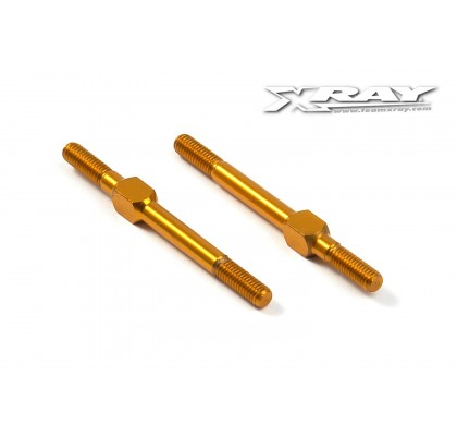 Alu Adjustable Turnbcukle 39mm M3 L/R - Orange (2)