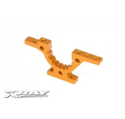 T4 Alu Front/Rear Lower Adjustment Bulkhead - Orange