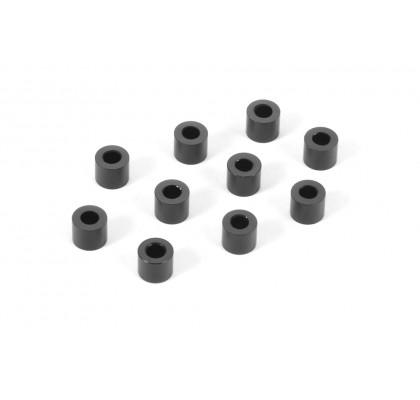 Alu Shim 3x6x5.0mm - Siyah (10)