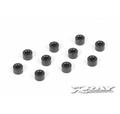 Alu Shim 3x6x4.0mm - Siyah(10)