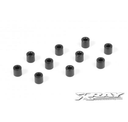 Alu Shim 3x6x6.0mm - Siyah(10)
