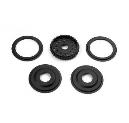 Diff Pulley 38T With Labyrinth Dust Covers