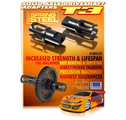 Solid Axle Driveshaft Adapter - HUDY Spring Steel
