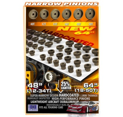 64p Pinion Gears