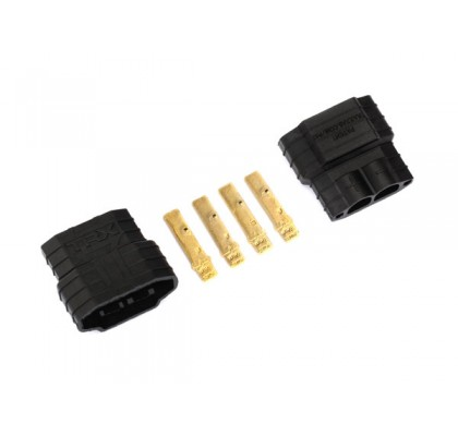Traxxas® connector (male) (2) - For Esc Use Only
