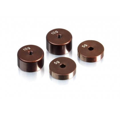 Precision Balancing Chassis Weights (4 pcs.)