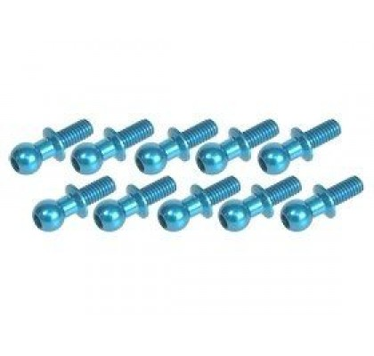 4.8MM Ball Stud L=10 (10 pcs) - Light Blue
