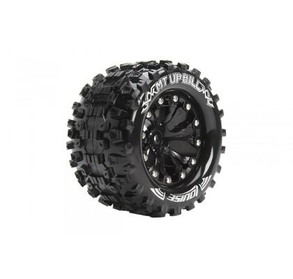 1/10 MT-Uphill Canavar Kamyonu Lastik Seti – Siyah 2.8inç – 1/2-Ofset 12mm Hex