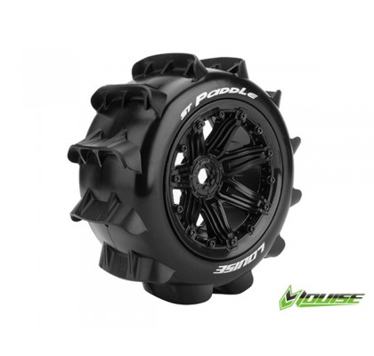ST-PADDLE Sport-Compound Black Wheel TRX 17mm (Snow -Sand Tire)