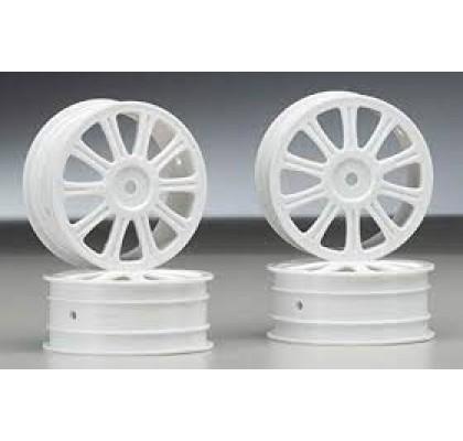 Rulux Front Wheel White B44 4pcs
