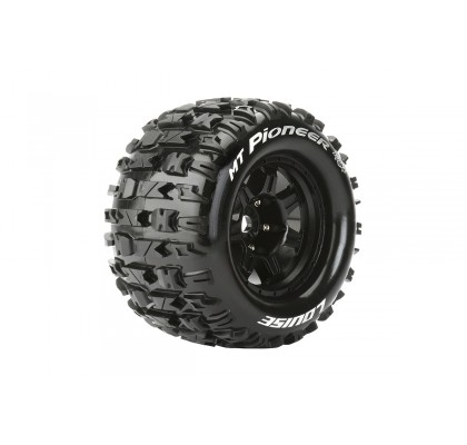 MFT MT-Rocket Sport Compound Asphalt Tire Wheel Black 17mm Hex (Kopya)