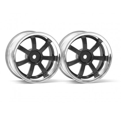 RAYS GRAM LIGHTS 57S-PRO CHROME/GUNMETAL 26mm 6mmoffset