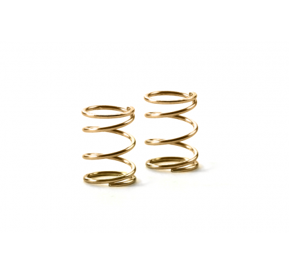 Spring 4.25 Coils 3.6x6x0.4mm, C=1.5 - Gold (Soft) (2)