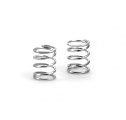 Spring 4.75 Coils 3.6x6x0.45mm, C=2.0 - Silver (Soft) (2