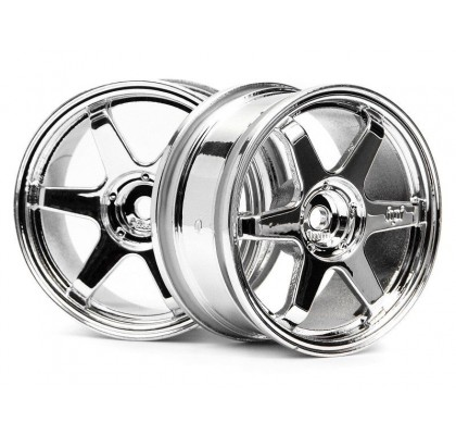 TE37 WHEEL 26mm CHROME (6mm OFFSET)
