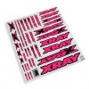 XRAY Sticker For Body - Neon Red