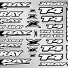 XRAY T4 Sticker for Body - White